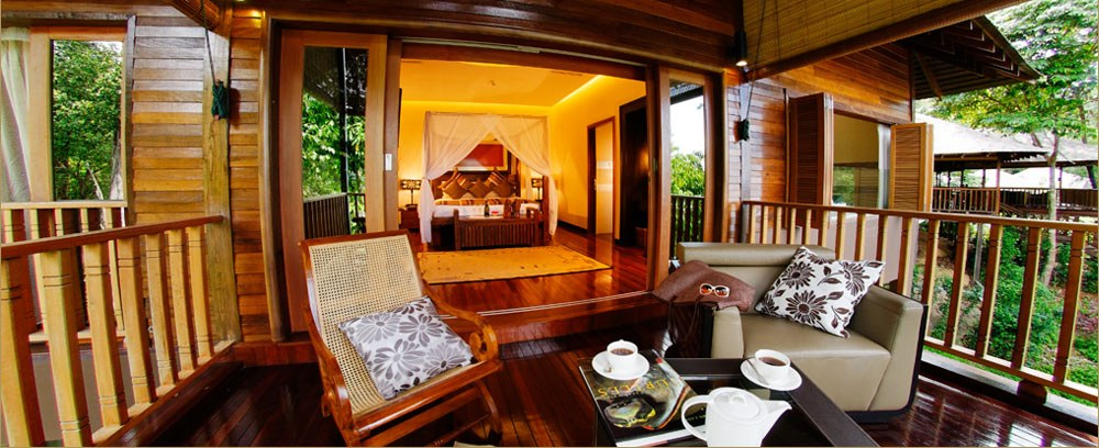Bunga Raya Island Resort & Spa - 3 Bedroom Deluxe Villa