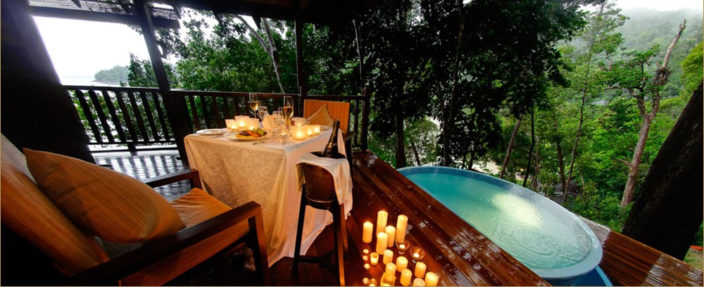 Bunga Raya Island Resort & Spa - Tree House Villa