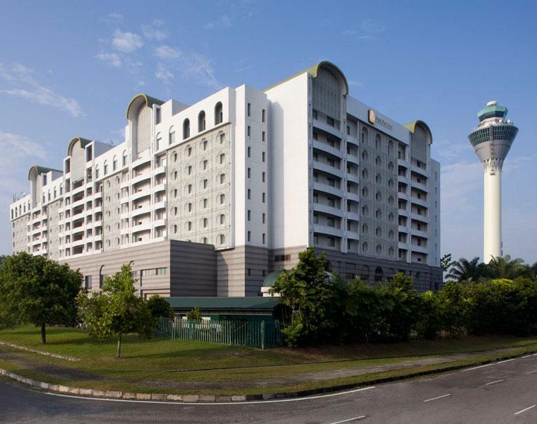 Exterior of Sama Sama (formerly Pan Pacific) Kuala Lumpur International Airport (KLIA)