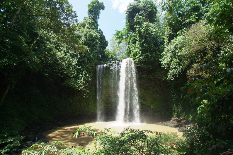 Madai Falls in Danum Valley - visit while staying at Borneo Rainforest Lodge