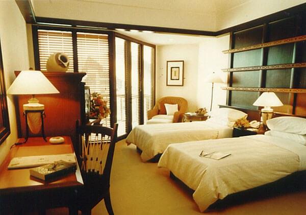 Magellan Deluxe Garden View Twin room - Empire Hotel & Country Club in Brunei