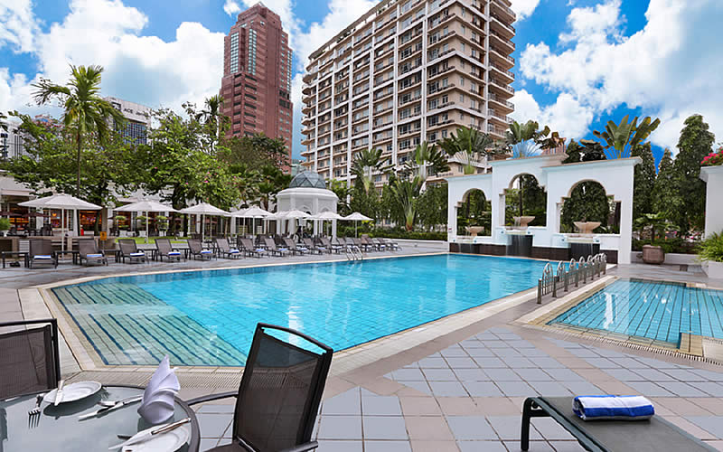 Outdoor Pool Hotel Istana Kuala Lumpur