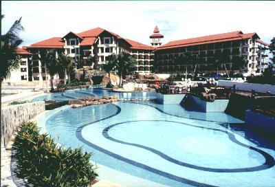 Poolside at the Magellan Sutera Resort