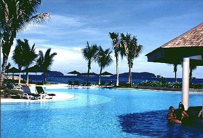 Poolside at the Pacific Sutera
