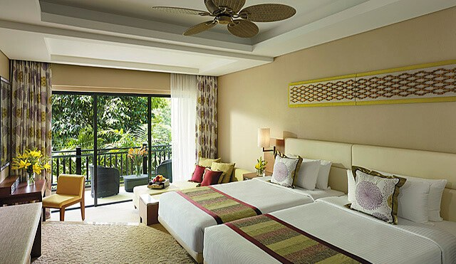 Rasa Ria Resort Garden Wing Superior Rainforest room