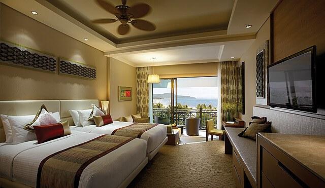 Rasa Ria Resort and Spa Garden Wing Deluxe Seaview Room