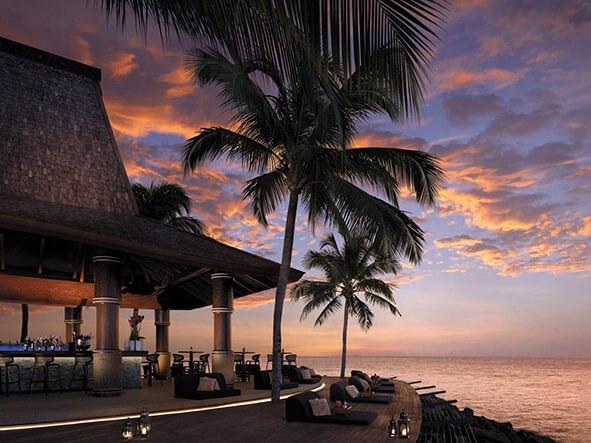 Sunset Bar and Sunset from Tanjung Aru Resort