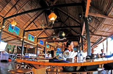 The Restaurant on Lankayan Island