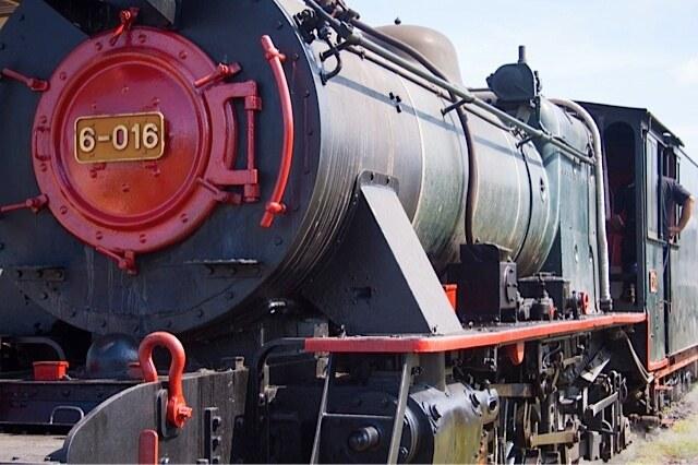 North Borneo Railway from Kota Kinabalu to Papar - Vulcan Steam Locomotive