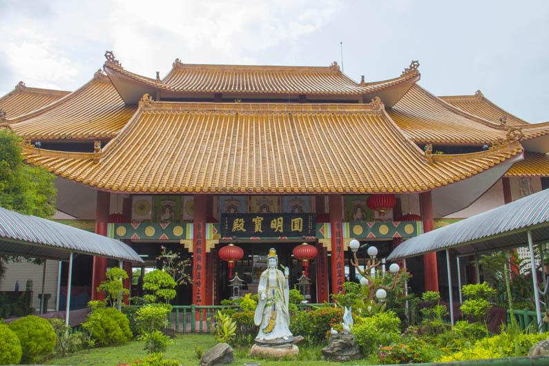 Puh Poh Tze Temple in Koto Kinabalu, seen on the Kota Kinabalu City tour