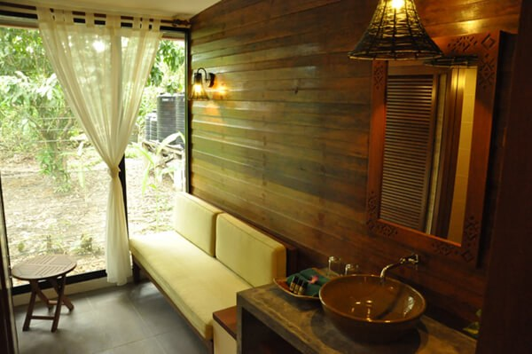 New Accommodation at Sukau Rainforest Lodge - day room