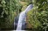 A water fall in Tanah Merah Indah