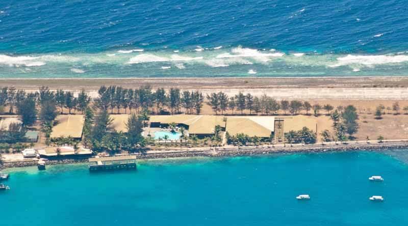 Aerial View of Avillion Layang Layang Resort