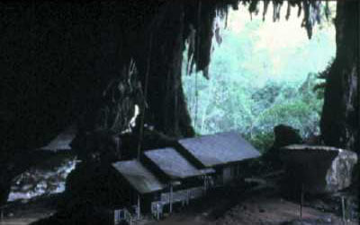 Archeological Site in the Great Cave
