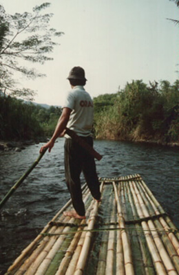 Bamboo Rafting on the Amandit River