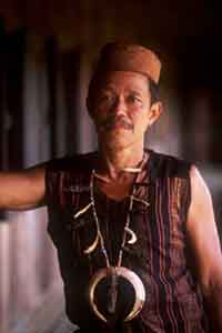 Benuaq Dayak Tribesman
