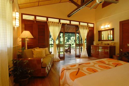 Borneo Rainforest Lodge Deluxe Room
