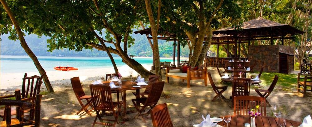 Bunga Raya Island Resort & Spa - Pantai Grill