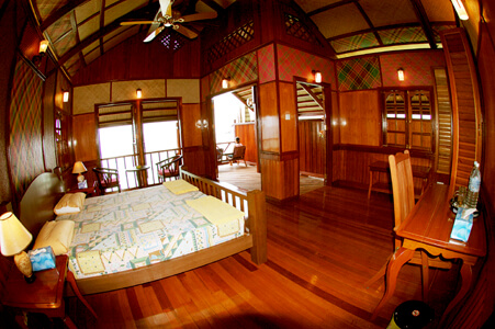 Chalet accommodation at Kapalai Dive Resort