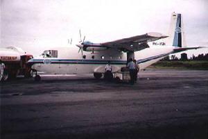 DAS Flight to Banjarmasin