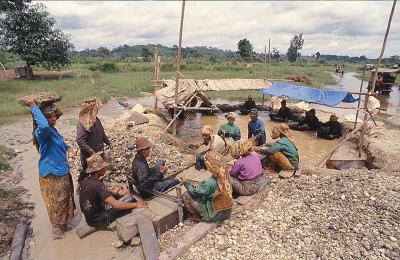 Diamond Mining in Cempaka