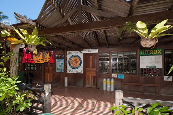 Dive Shop at Sipadan Resort
