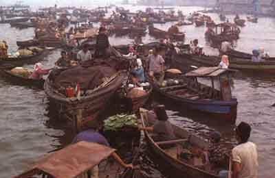 Floating Market - Banjarmasin