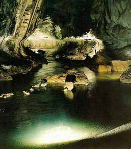 Inside Clearwater Cave
