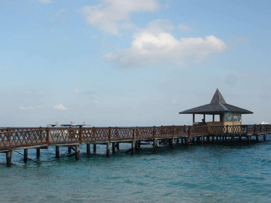 Jetty at Pulau Sipadan