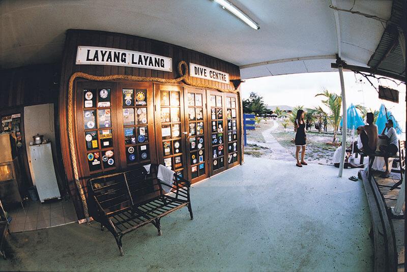 Layang Layang Resort Dive Centre