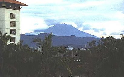 Mt. Kinabalu as seen from KK