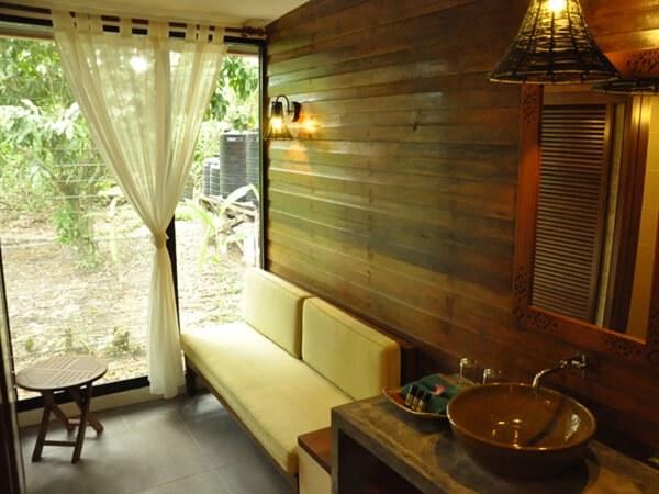 New Accommodation at Sukau Rainforest Lodge - day room