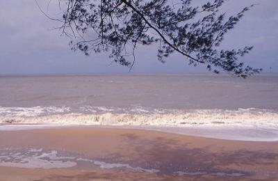 Pasir Panjang Beach at Singkawang