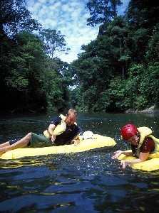 Rapid Riders on the river - Temburong