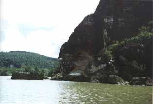 Rock Formations at Bako