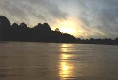 Sunset on the Kinabatagan