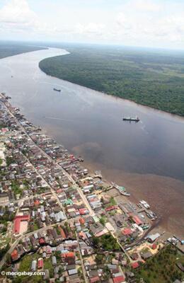 View of Pangkalanbun