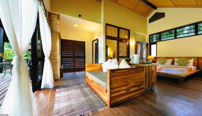 Borneo Rainforest Lodge Deluxe Villa