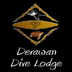 Derwan Dive Lodge Logo - Tasik Divers, Kalimantan